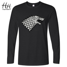 Winter is coming Direwolf Long Sleeve T-shirt for Men