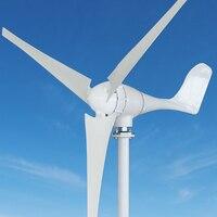 500w 24v Small Wind Generator Wind Solar Hybrid Controller 500w Off Grid Pure Sine Wave Inverter