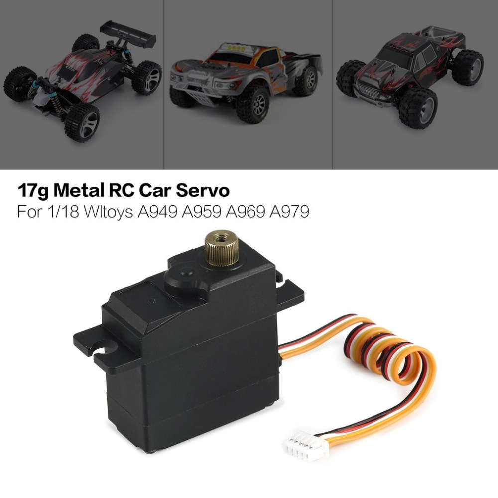 17g Metal Gear Servo 4.8-6V for 1/18 Wltoys A949 A959 A969 A979 A959-A A969-A A979-A RC Car Truck Model Steering Part17g Metal Gear Servo 4.8-6V for 1/18 Wltoys A949 A959 A969 A979 A959-A A969-A A979-A RC Car Truck Model Steering Part