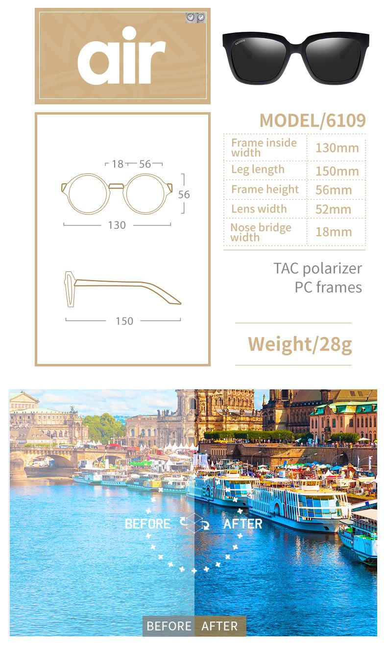 HTB1NeIHilcHL1JjSZFBq6yiGXXaw - VEGOOS Real Polarized Sunglasses for Men and Women Sun Glasses Designer Brand Eyewear #6109