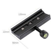 "XILETU QR-120 Зажим адаптер для быстросъемной пластины 1/"" 3/8"" для Arca SWISS RSS штатив 120 мм Q19818"