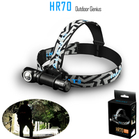 Newest 3000 Lumens LED Headlamp Flashlight XHP70 LED Outdoor USB Waterproof Headband Magnet At Tail Cap Torch Batteries Include