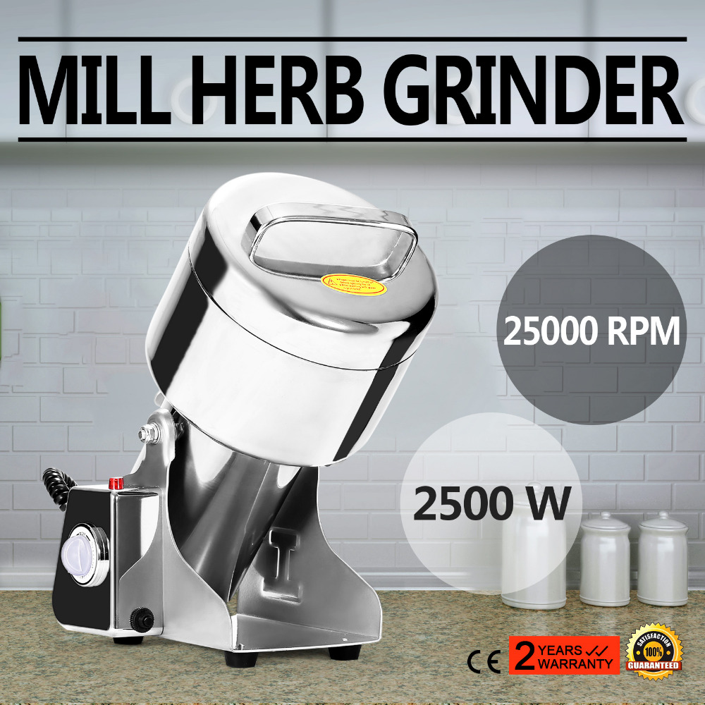 750G High Speed Electric Herb Coffee Beans Grain Grinder Cereal Mill Flour Powder Machine