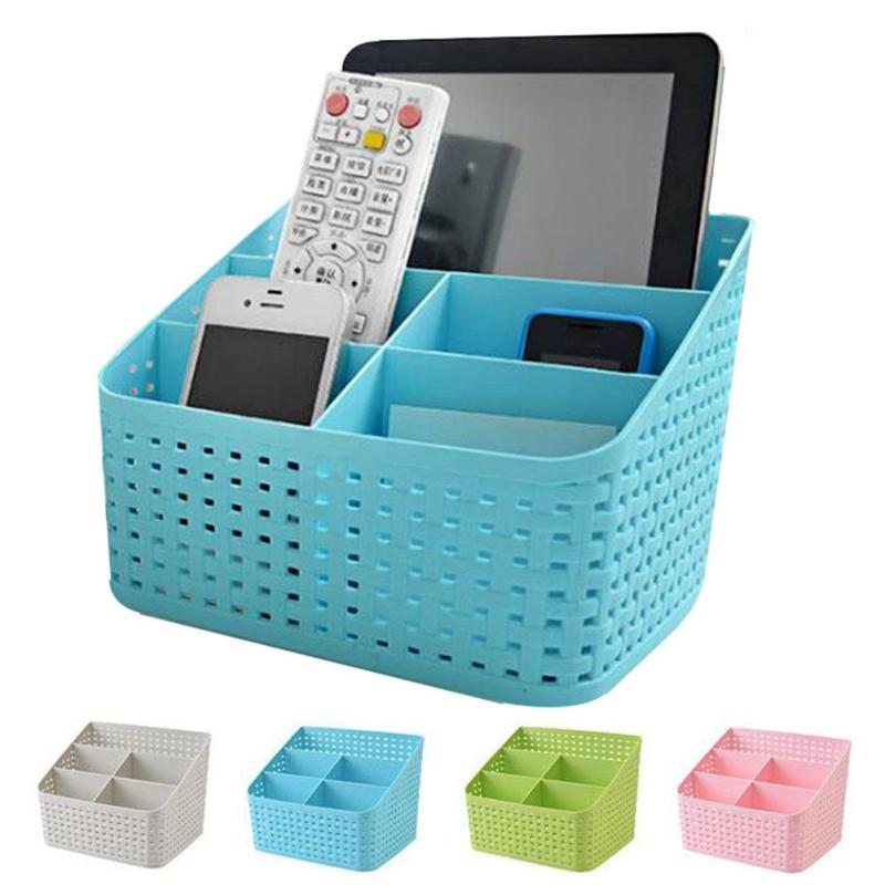Remote control storage box Cosmetics debris classification storage box Desk finishing box A20