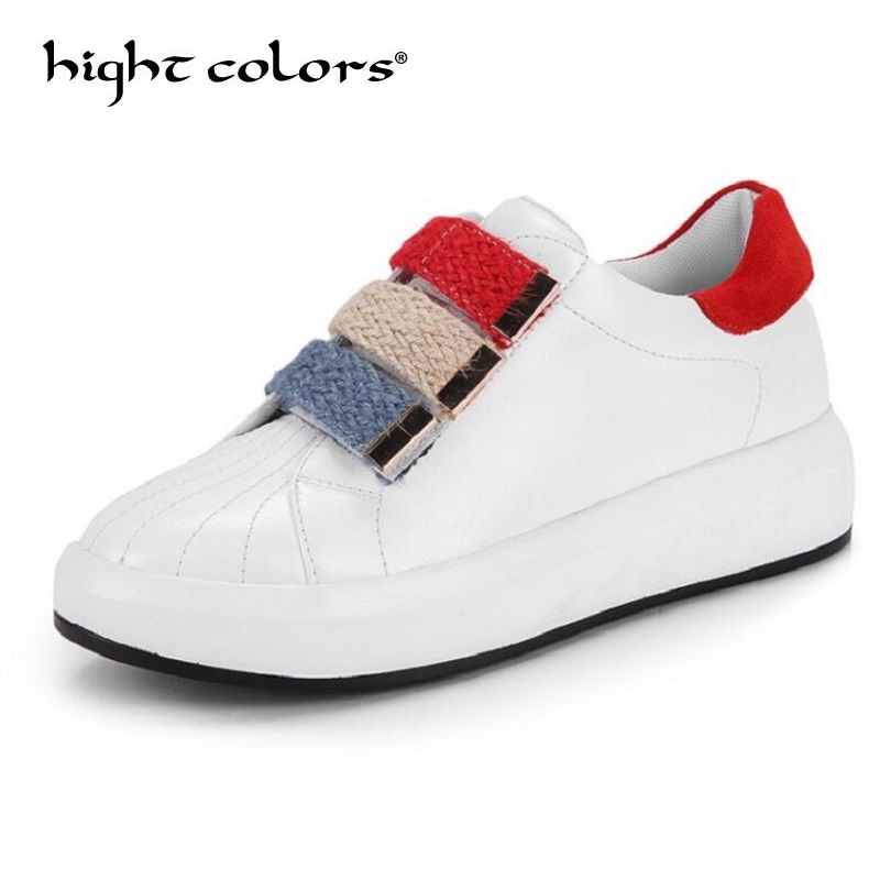 For Women Leather Round Toe And Pu Flat Shoes