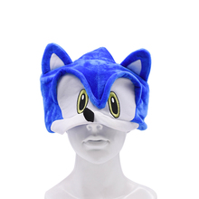 50 pcs/lot Wholesale Peluche Toys Sonic Adjustable Hat Cartoon Summer Soft Plush Toy One Size Hot Selling Christmas Gift