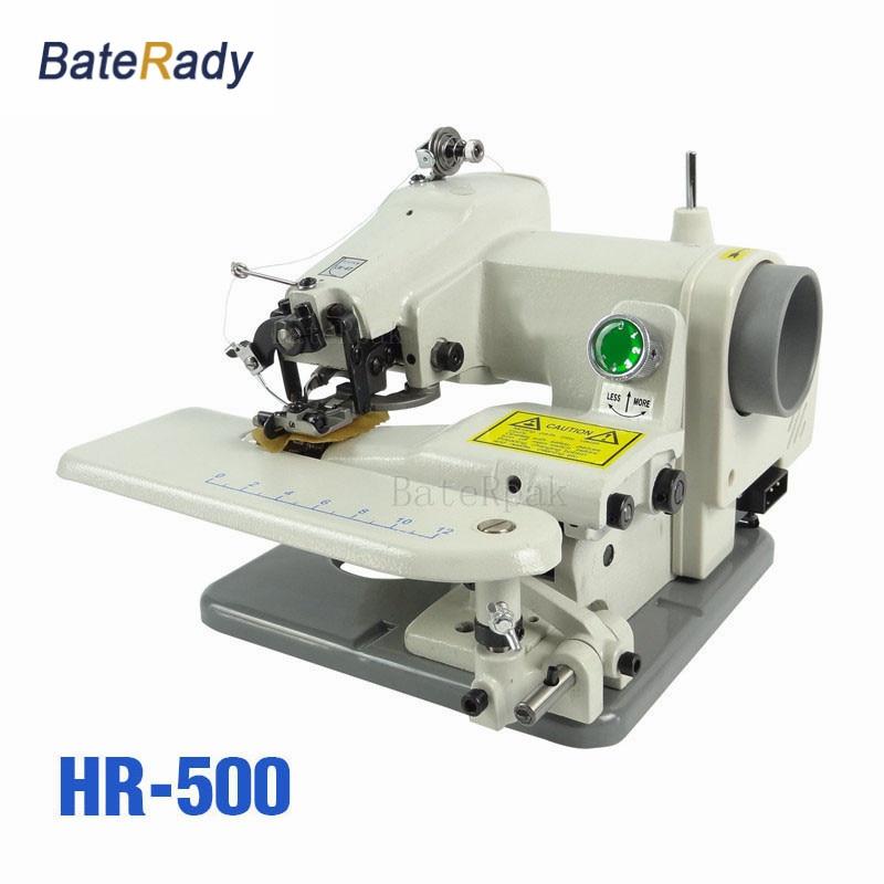 HR500BateRpak Household blindstitch sewing machine,Direct Drive,Hat,sweater neck,cuff,Desktop Blind/Trousers sewing machine 220V