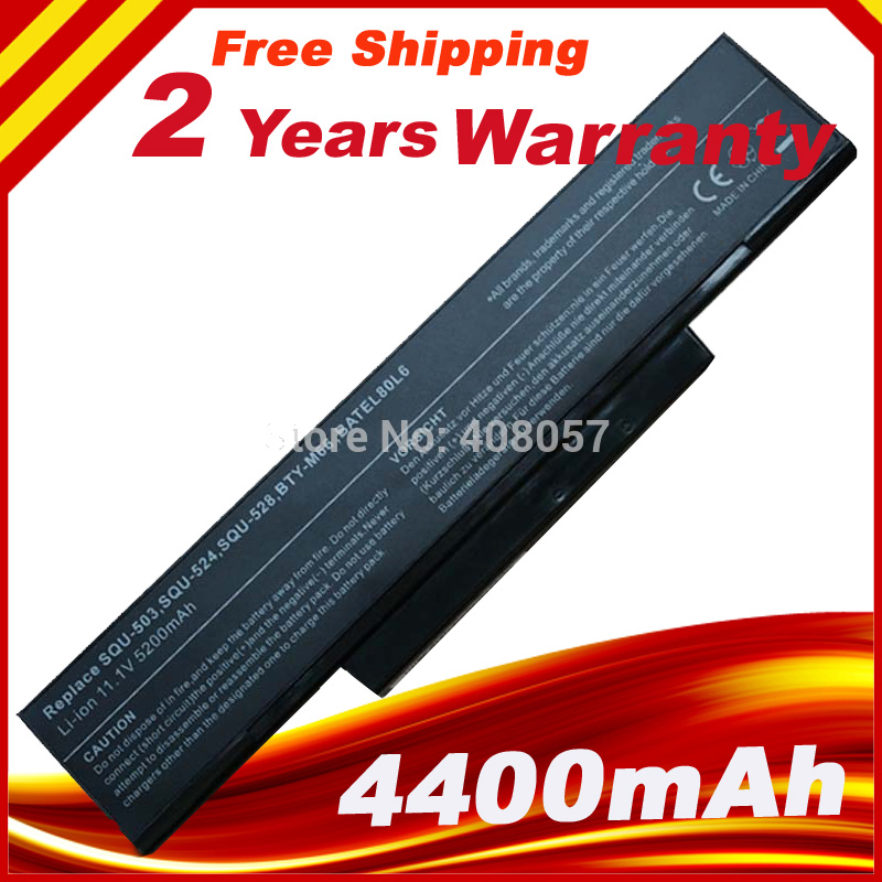 Laptop Battery for <font><b>MSI</b></font> BTY-M66 BTY-M67 BTY-M68 BTY-M65 BTY-M61 M670 M660 M655 CX420 EX400 VR440 <font><b>GX620</b></font> CX705MX image