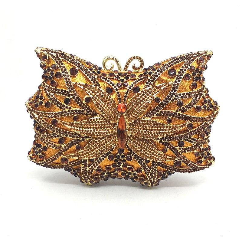 Kobiety wieczór torebka imprezowa diamenty masło torebka z kryształkami luksusowe ślubne dla nowożeńców party portfel torebki kryształ torebki w Torby z uchwytem od Bagaże i torby na  Grupa 1