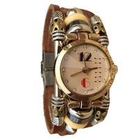 Men Quartz wristwatches Really Belt Quartz Buckle Upscale Fashion Brand Men's Quartz Watch with Canvas Leather Strap Watches 4*