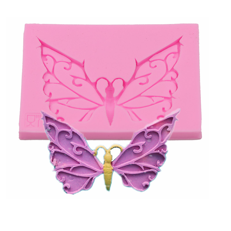 Butterfly Soft Candy Cake Silicone Mold Handmade Chocolate Soap Mold Cake Dessert Decorative Gadget DIY Kitchen Baking Cookies