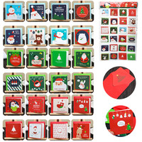 144Pcs Handmade Merry Christmas Paper Greeting Card With Envelope Gift Card Christmas Decorations For Home