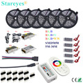 LED Strip 5 m 10 m 15 m 20 m 25 m 30 m SMD 5050 RGB RGBW 300LED 12 V IP20 IP65 Waterdichte Flexibele strook LED Touw Linten Kit