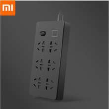 Xiaomi Youpin Universal Charging Power Strip 6 Outlets 6-position Patch Panel Electrical Socket Extension Socket 220v