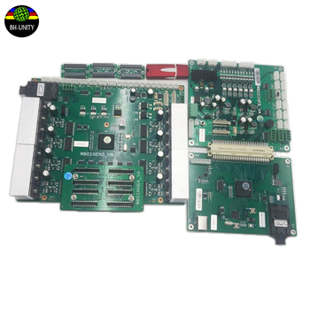 uv flatbed  printer one set board for TX800 printer use three heads including main board head board for dx8 tx800 printhead