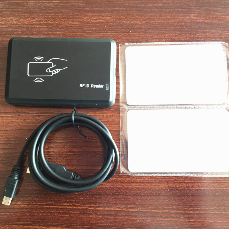 USB interface ID IC 125khz and 13.56mhz dual frequency Card rfid readerUSB interface ID IC 125khz and 13.56mhz dual frequency Card rfid reader