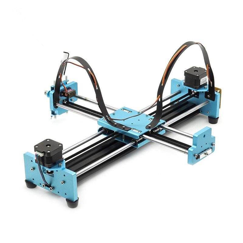 Tüm Metal Drawbot Kalem Çizim Makinesi Yazı Robot Kiti A3 DIY Akıllı El Yazısı Makinesi Yazma Robot oyuncaklar