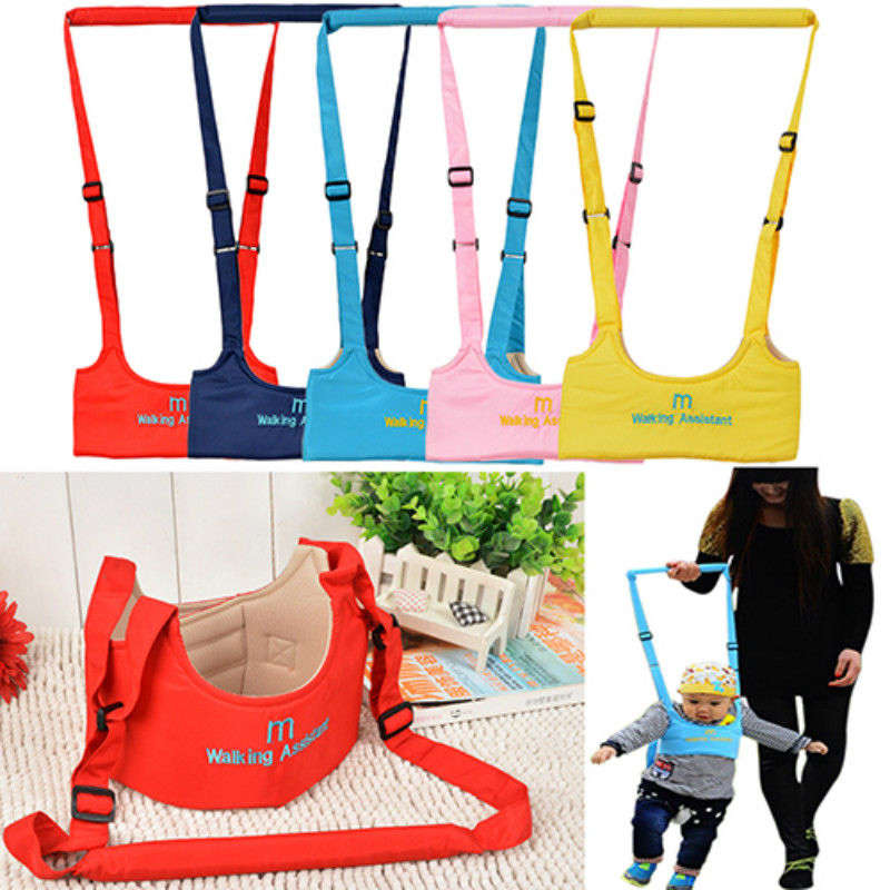 NEW Walking Harness Aid Assistant Safety Rein Train Baby Toddler Learn to Walk