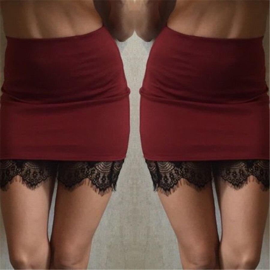 Fashion Spring Autumn Mini Skirts 2016 Women Solid Slim Bodycon Pencil Skirts Plus Size 3 Colors Korea Women Skirt