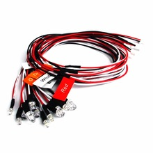 Rc Led Light Strobing +Turning lights combo Mode  for 1/10 1/16 1/18 RC Model Car Truck Accessory