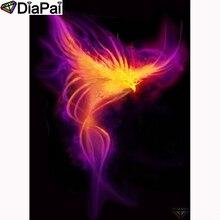 DIAPAI Diamond Painting 5D DIY 100% Full Square/Round Drill Phoenix scenery Embroidery Cross Stitch 3D Decor A24416