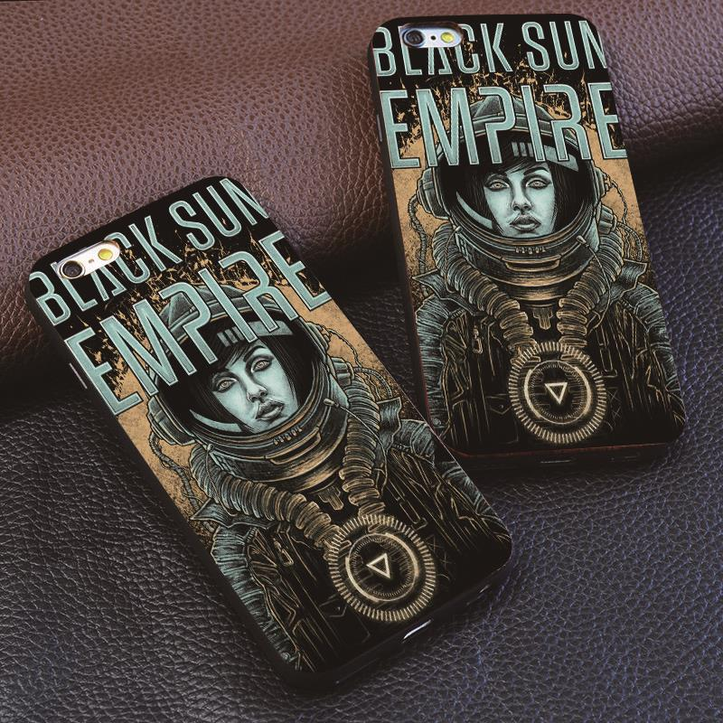 bse black sun empire drum and bass for samsung S3 S4 S5 S6 S7 edge for iphone 4S 5 6 6S 7 7plus hard plastic phone shell