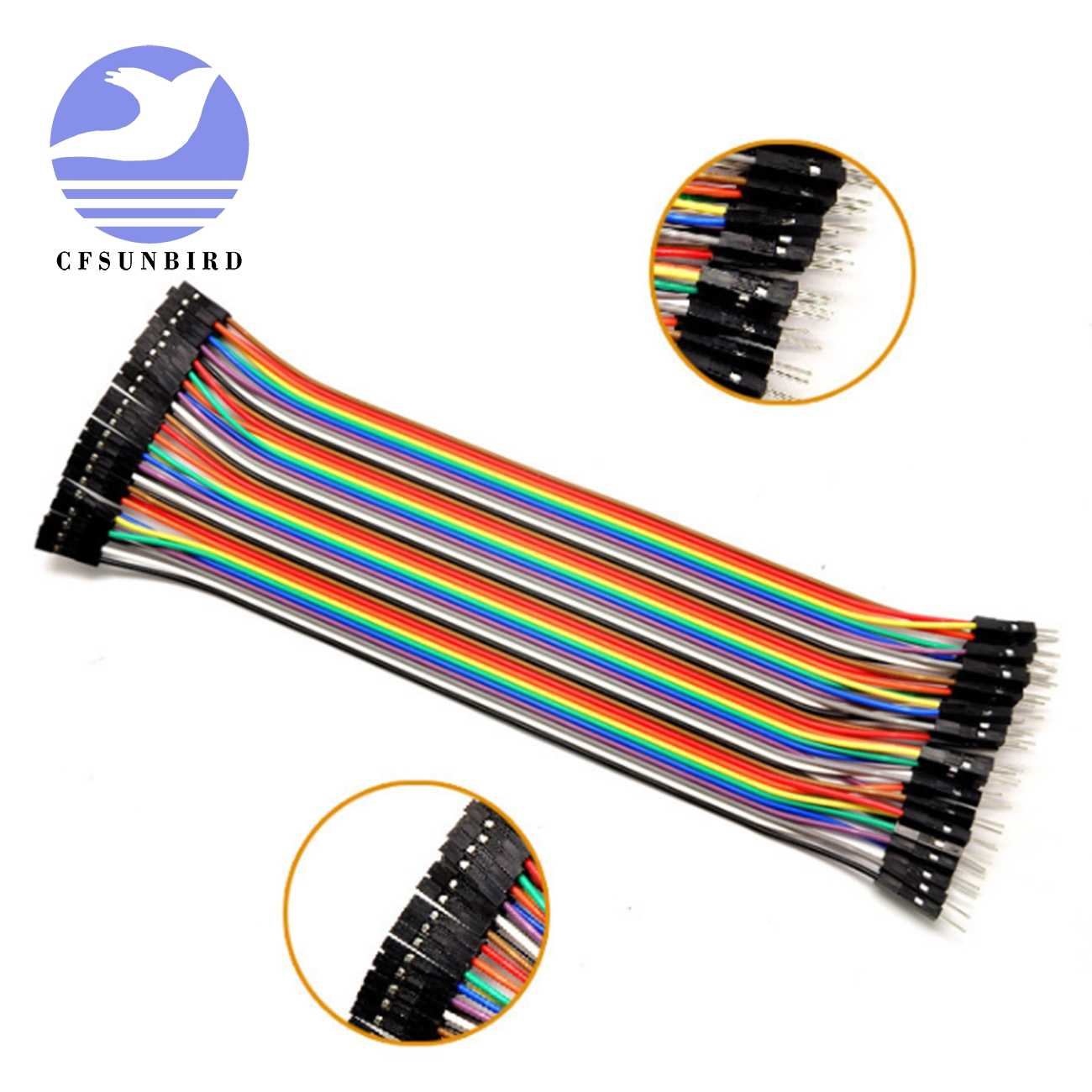 デュポンライン 10 センチ/20 センチ/30 センチオス/メス男性または女性ジャンパー線デュポンケーブル arduino の diy キット