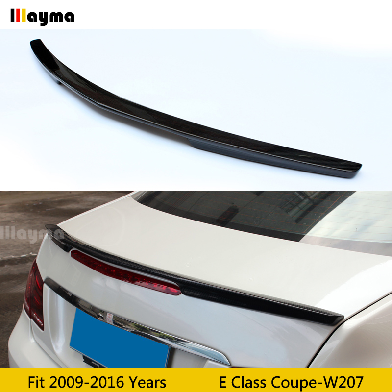 AMG style Carbon fiber Rear wing spoiler For Benz E class coupe E260 E320 E400 W207 2009-2016 year car rear spoilerAMG style Carbon fiber Rear wing spoiler For Benz E class coupe E260 E320 E400 W207 2009-2016 year car rear spoiler