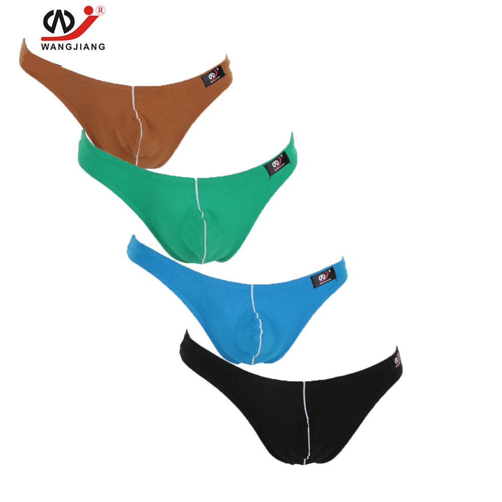 4 Pack Sexy Gay Underwear Fashion For Young Bodysuits Sex Toys Sexy Man Gay String Boy -3418