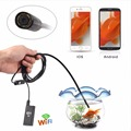 WiFi Wireless For iOS Android Endoscopes Borescope HD 720P 2.0MP 8mm 3.5M LED Tube Camera