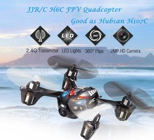 Free Shipping New arrival JJRC H6C 4-CH 360 Flips 2.4GHz RC Quadcopter With 6-Axis Gyro 2MP Camera RTF Best Birthday Gift