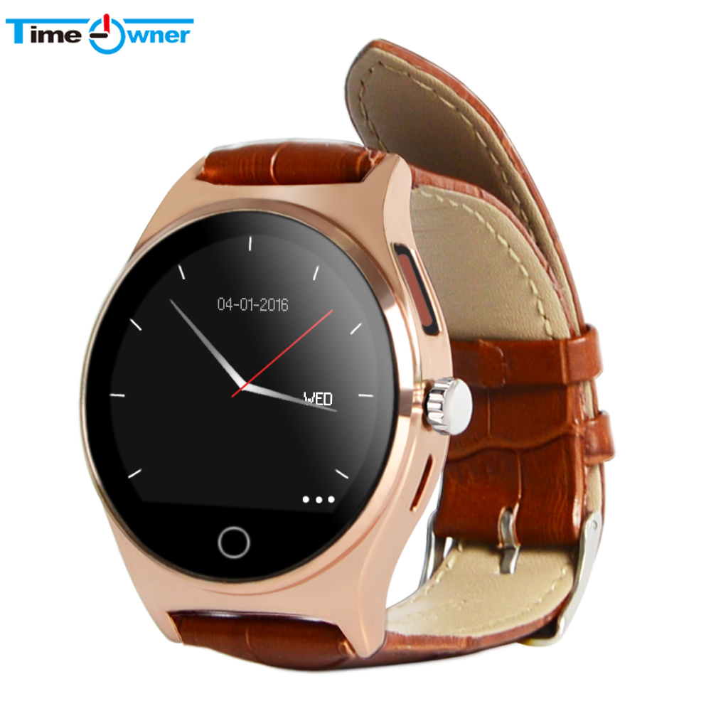 TimeOwner Bluetooth Smart Watch Wearable Device Hear Rate Sleeping Monitor Pedom