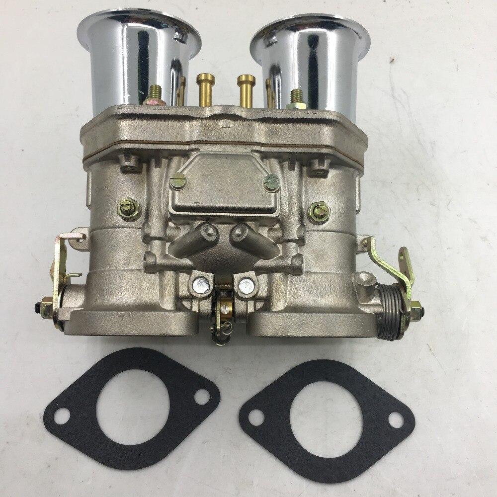 SherryBerg carburateur carb 40IDF Carburateur Chrome d'alcool Pour Bug/Beetle/VW/Fiat/Porsche pour weber fajs dellotor solex carby