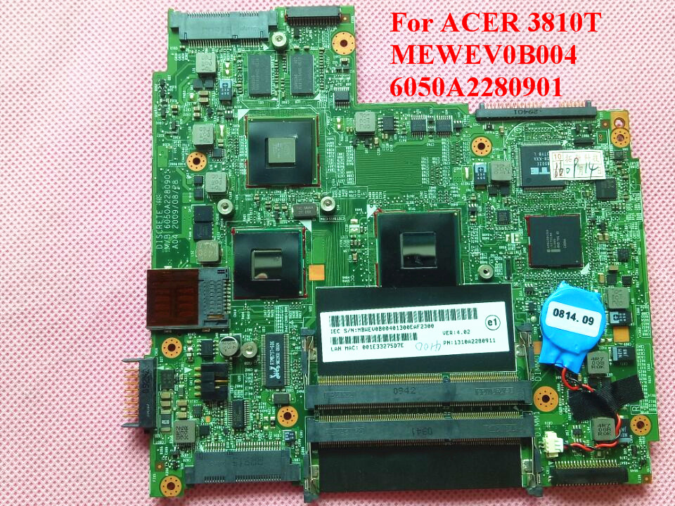 For ACER 3810T 3810TG Laptop Motherboard MEWEV0B004 6050A2280901 100% Tested Perfect Working