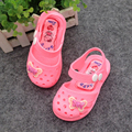 Girls sandals Children summer Kids soft leather baby Toddler shoes sandals for boys girls pink red New 2017
