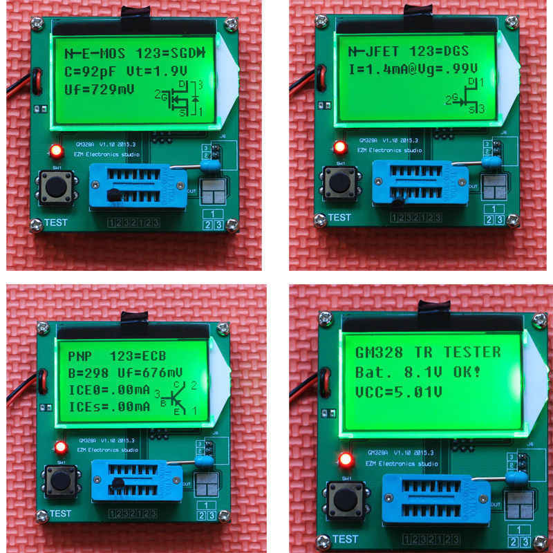 detail feedback questions about gm328 12864 lcd digital combo lcr