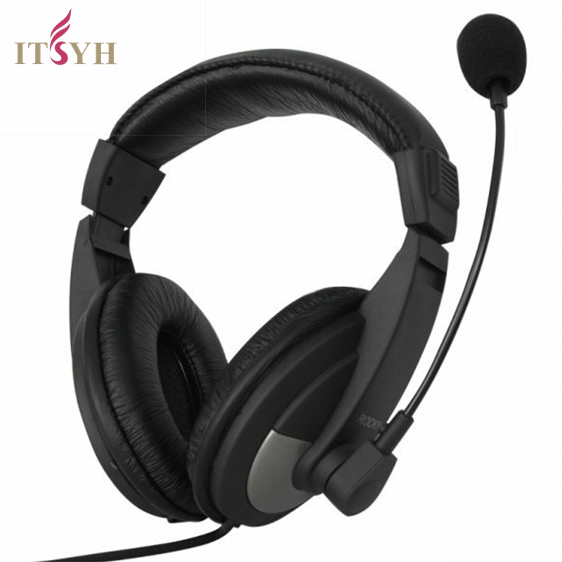 ITSYH Gaming Headset Noise Cancelling Headphone Professional with Microphone computer headphones birthday gift for kid LF01-024