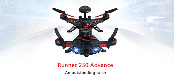 Walkera RUNNER 250 Advance 250 Size Mini Racing Drone Quadcopter W/ Devo 7 Radio 1080 HD /800TVL Camera OSD RTF Carton Box