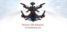 Walkera RUNNER 250 Advance 250 Size Mini Racing Drone Quadcopter W/ Devo 7 Radio 1080 HD /800TVL Camera OSD RTF Carton Box