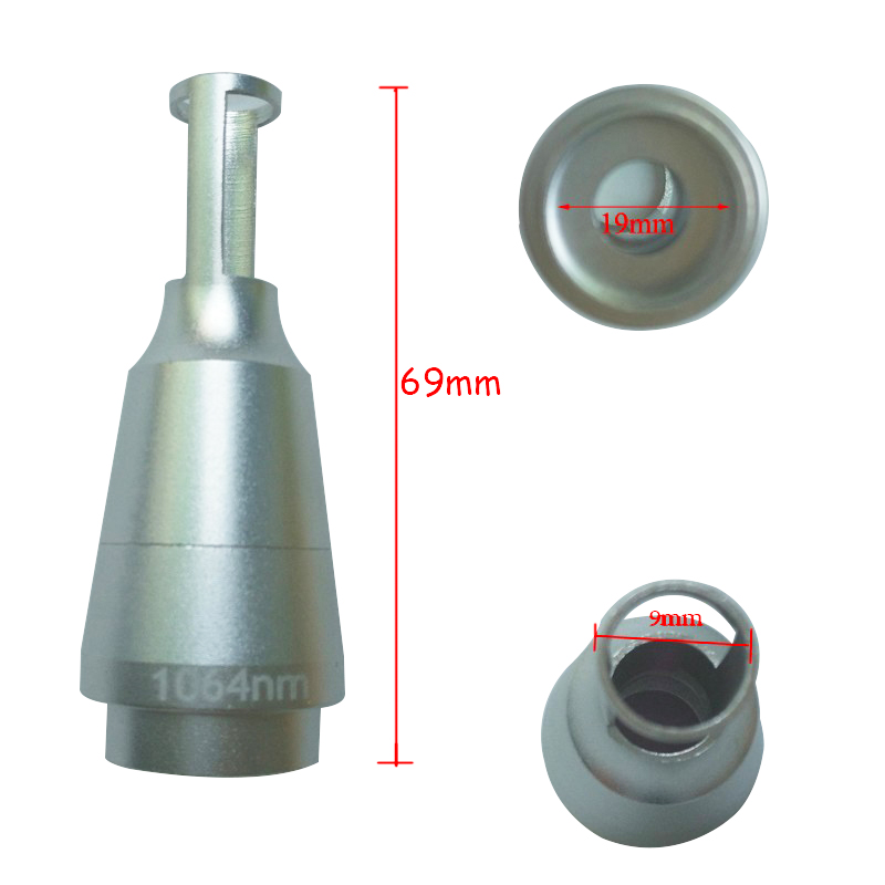 1064nm 532nm Lens Laser Tips Head for Tattoo Removal Machine ND YAG Laser Handle tips lens in Massage Relaxation from Beauty Health