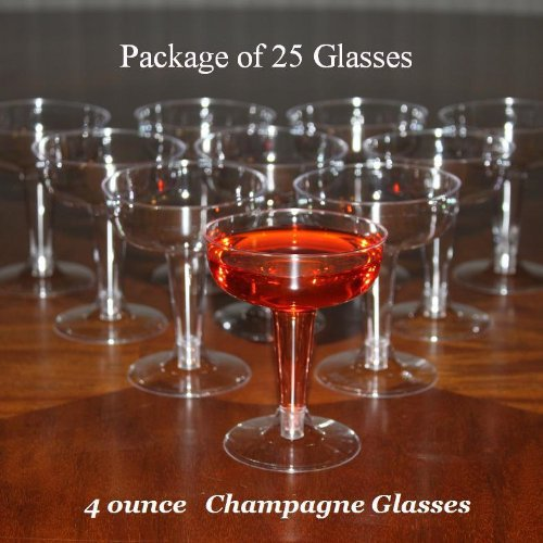 free shipping event party wedding supplies tableware cocktai 120ml disposable plastic champagne glasses 100 count box