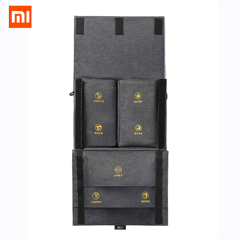 Xiaomi ZD Outdoor Travel Portable Emergency Survival Bag Medical Storage Pack First Aid Kit Home Family Health Care Tool москитные сетки экраны home home zd 013