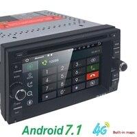 2G di RAM Quad core 2 din android 7.1 WIFI New universal Car Radio Auto Doppio Lettore DVD di Navigazione GPS In dash PC Car Stereo video