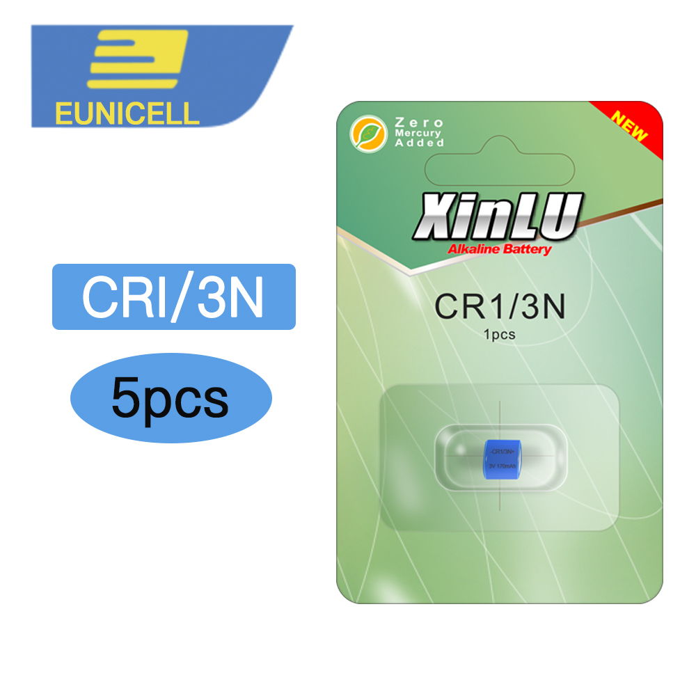 5pcs Original CR1/3N 2L76 K58L DL1/3N 5018LC CR11108 3v Lithium Battery