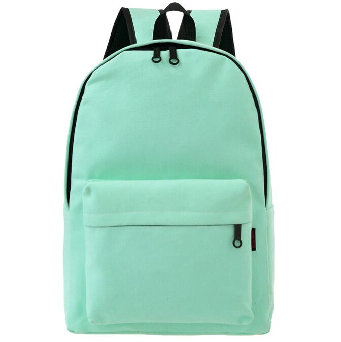 2016 Hot Sales Women Canvas Backpacks High Quality School Bag For Teenagers Boys Girls Shoulder Bag