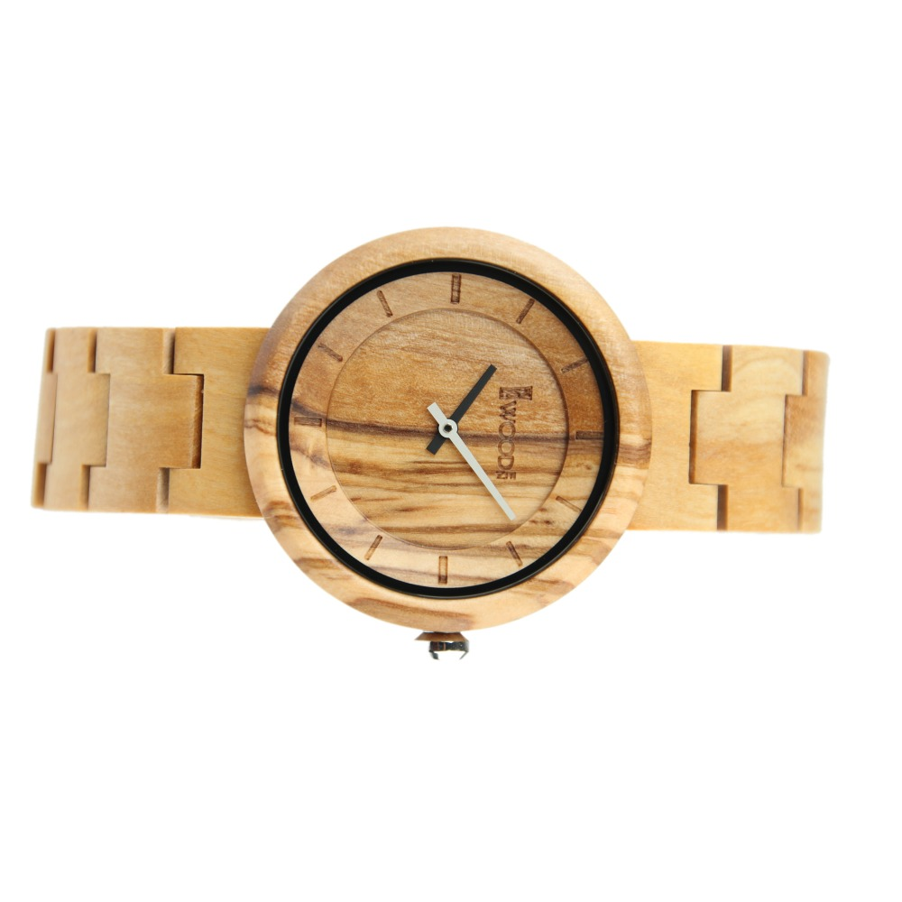 Redear 2017 New Men Women Natural Bamboo Wooden Watches Luxury Men's Top Brand Designer Quartz Watch With Japanese Movement