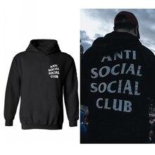 ANTI SOZIALEN SOCIAL CLUB Hoody Kanye Sweatshirts mit kapuze Für Männer und Frauen 20 Farben Plus Größe XXS-4XL