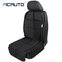 PIC AUTO Car Seat Protect Pad Waterproof Thick Padding Premium Durable Construction Extra Wide Side Flaps