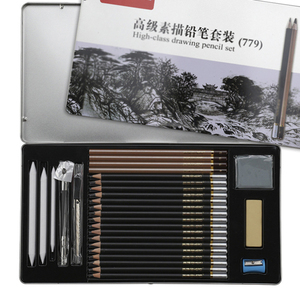 Image 2 - 鉛筆柔らかい安全な非毒性標準鉛筆hb 2b 4b絵画プロフェッショナルオフィス学校描画スケッチ最高品質