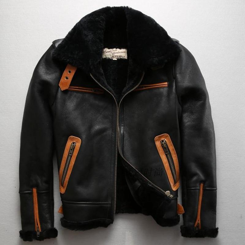 Popular Sheepskin Flight Jackets-Buy Cheap Sheepskin Flight